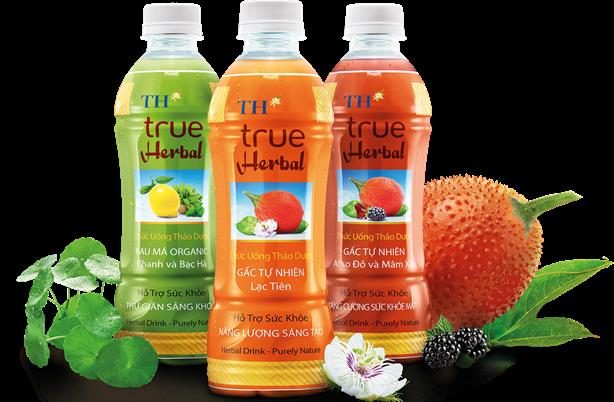 Bộ 3 sản phẩm mới Thức uống thảo dược của Tập đoàn TH.