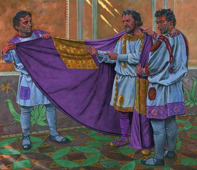 Vì sao màu tím khói luôn được gắn liền với đẳng cấp hoàng tộc - Ảnh 2.