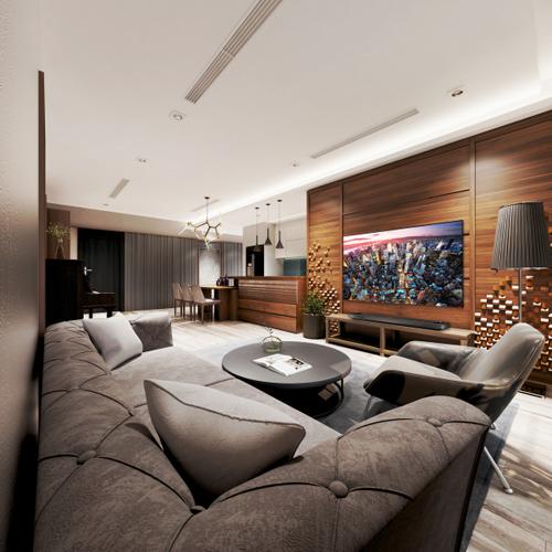 Hô biến phòng khách đơn giản thành không gian sang trọng cho nhà bạn