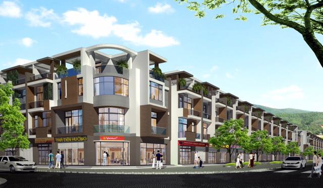 Với vị trí trọng điểm, Phố chợ Long Điền sẽ trở thành địa điểm kinh doanh sầm uất trong tương lai.