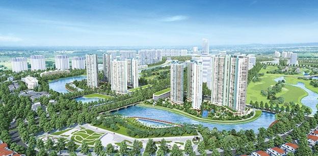 Ecopark mở đầu cho dòng căn hộ cao cấp giá hợp lý.