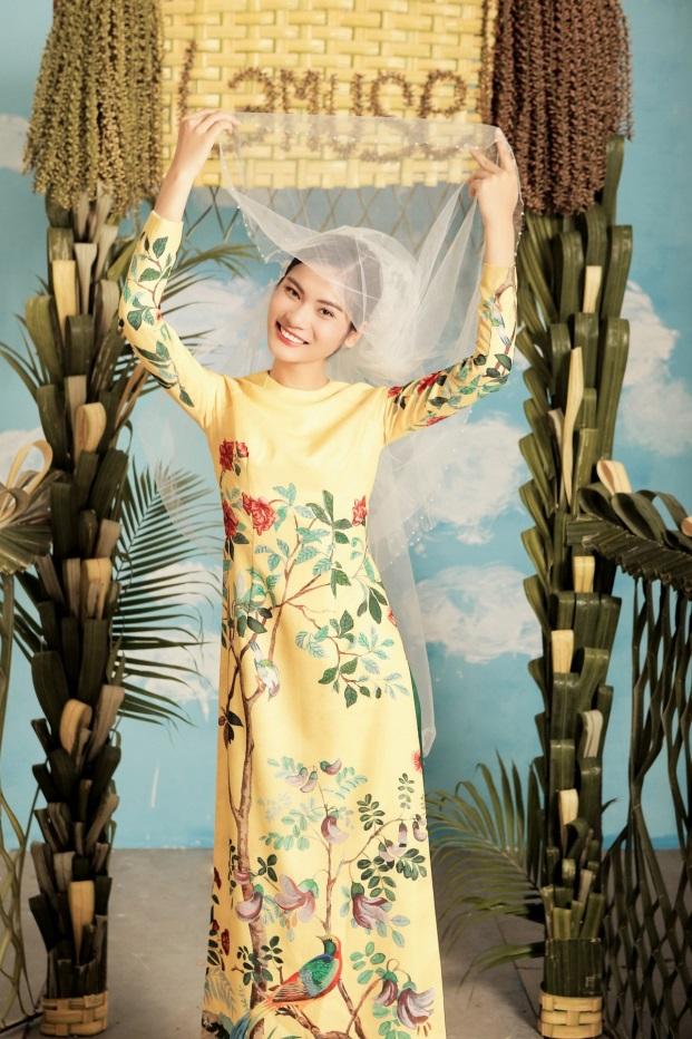 2 quán quân Next Top Model nổi bật với BST áo dài ngày cưới - Ảnh 12.