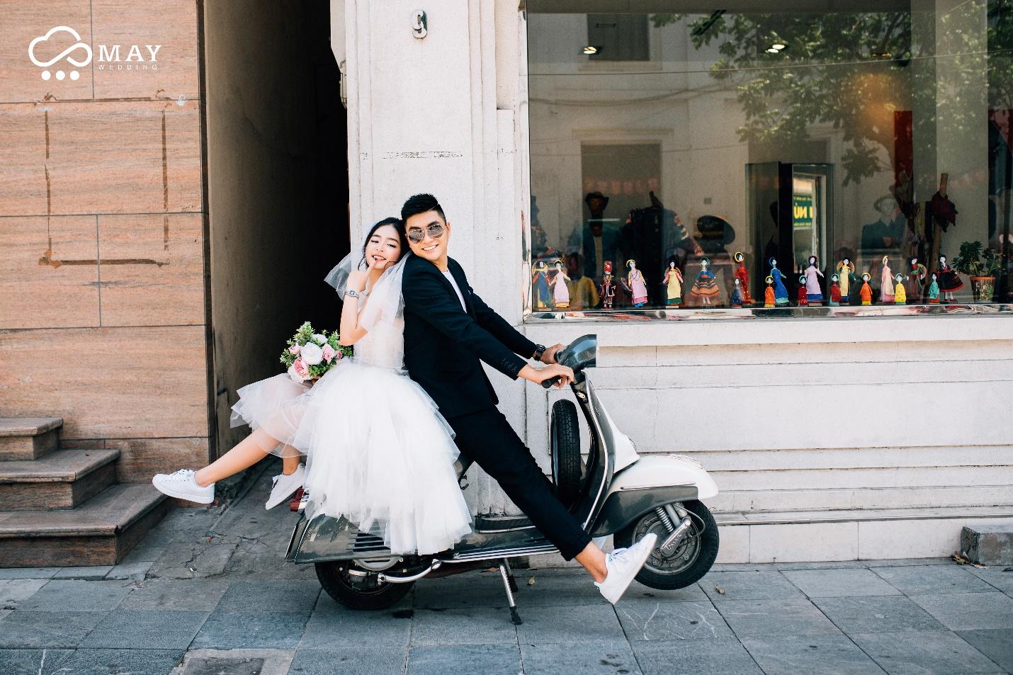 Cùng nhau cưới chất với loạt ảnh cưới \u201cđẹp tự nhiên mà không trộn lẫn