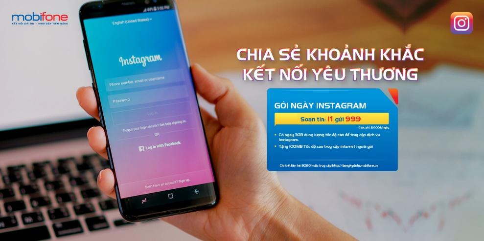 MobiFone miễn phí 1 tháng truy cập Instagram cho tất cả thuê bao - Ảnh 1