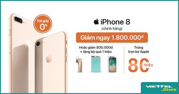 Sở hữu iPhone 8 chỉ với 16.990.000đ, cơ hội trúng trọn bộ Apple trị giá 80.000.000đ - Ảnh 2.