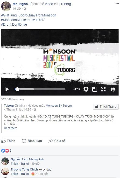 """Giới trẻ hào hứng phiêu âm nhạc tại street show, đua nhau """"săn vé"""" đến MMF by Tuborg 2017 - Ảnh 9."""