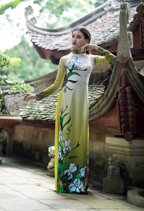 ART - Những tà áo dài mang tinh thần và vẻ đẹp của nghệ thuật - Ảnh 5.