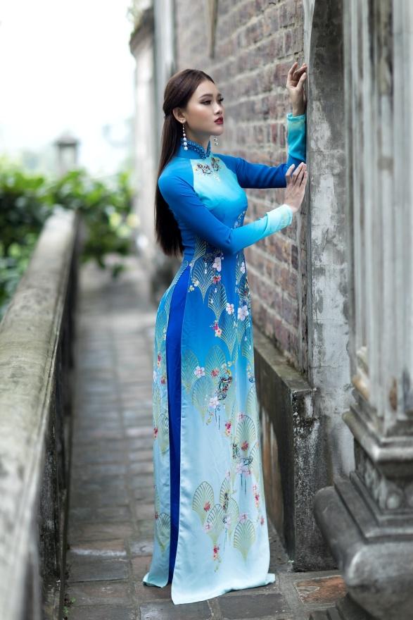 ART - Những tà áo dài mang tinh thần và vẻ đẹp của nghệ thuật - Ảnh 6.
