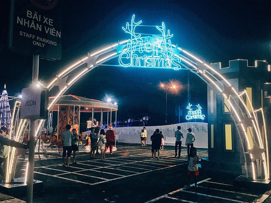 aeon binh duong noel 2018 Khám phá điểm check in Giáng sinh cực chất tại Aeon Mall Bình  aeon binh duong noel 2018