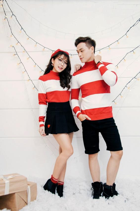 Gợi ý mix đồ Giáng sinh vừa lạ vừa quen cho các cặp đôi - Ảnh 3.
