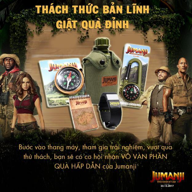 Trò chơi kỳ ảo Jumanji thách thức trải nghiệm thang máy thực tế ảo đầu tiên tại Việt Nam - Ảnh 4.