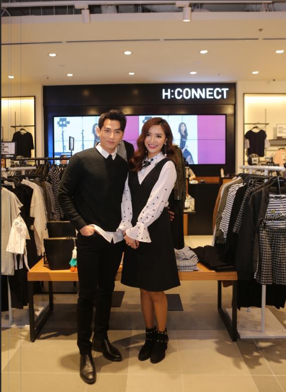 Bích Phương, Isaac cùng các fashion icon góp mặt ngày khai trương thương hiệu thời trang Hàn Quốc - Ảnh 1.