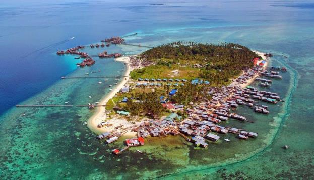 Mùa xuân lạc lối tại đảo thiên đường Mabul – Malaysia - Ảnh 1.