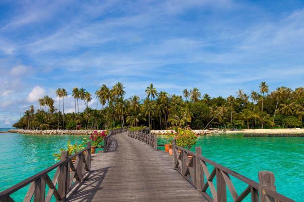 Mùa xuân lạc lối tại đảo thiên đường Mabul – Malaysia - Ảnh 2.