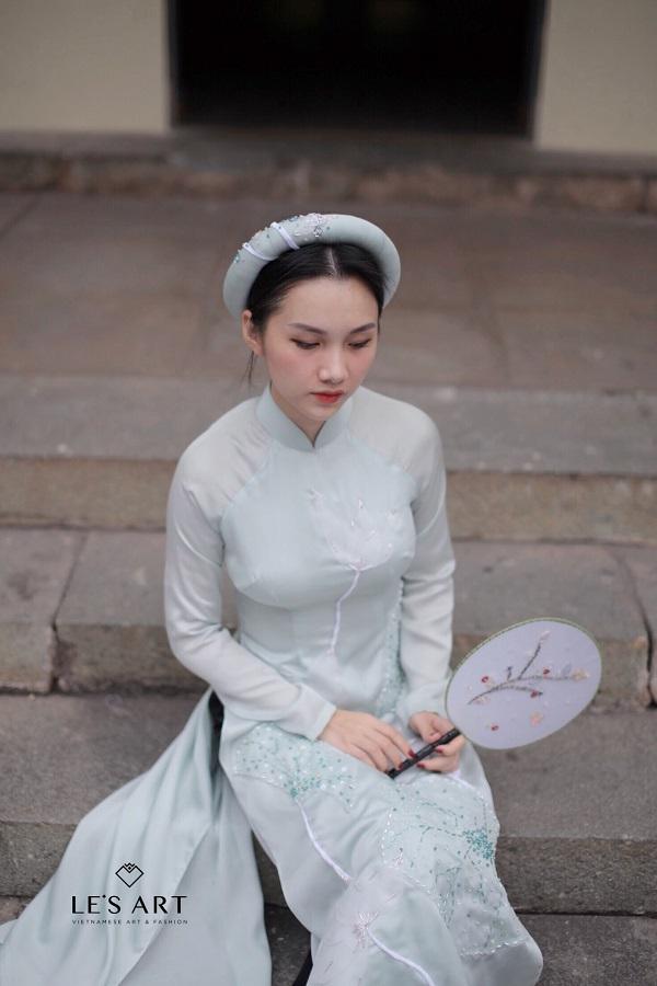 Áo dài thêu tay - Xu hướng thời trang đang lên ngôi mùa Tết 2018 - Ảnh 5.