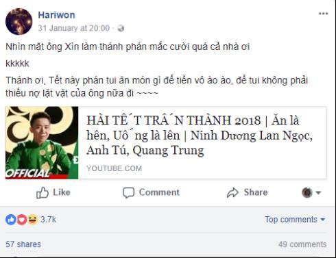 Hàng loạt sao Việt xếp hàng xin quẻ của thánh phán Trấn Thành để đổi vận đón Tết - Ảnh 9.