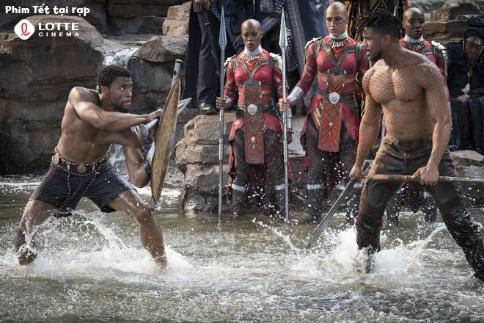 Black Panther: Siêu anh hùng Marvel thách thức cả mùa phim Tết - Ảnh 2.