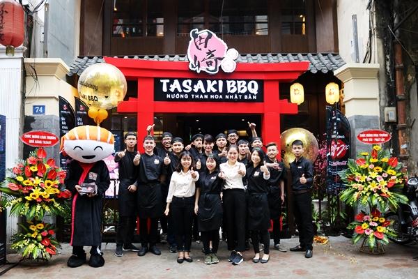 Thiên đường ẩm thực nướng than hoa Nhật Bản trên phố Bùi Thị Xuân - Ảnh 2.