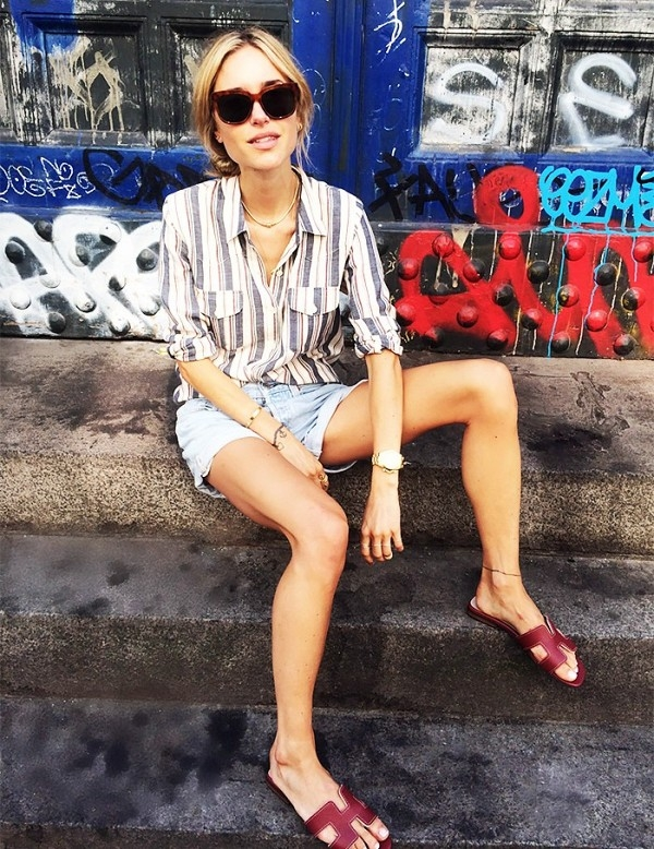 """Hermès Oran sandals – Mẫu dép cộp mác """"quý cô thanh lịch"""" - Ảnh 4."""
