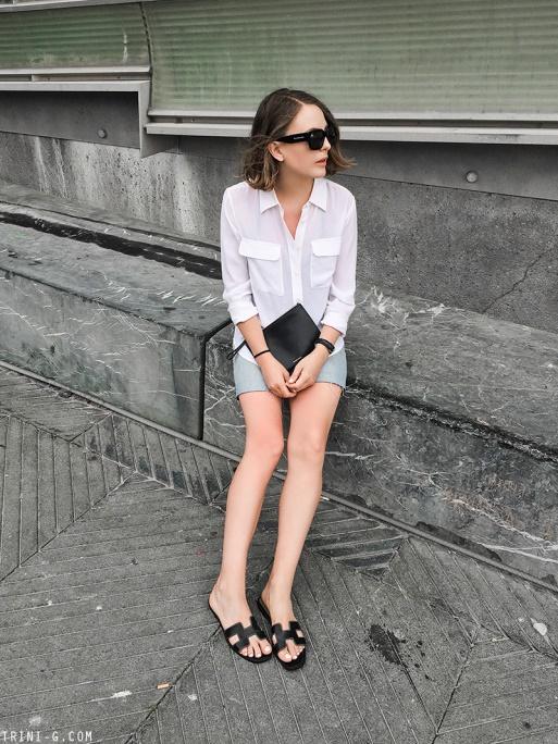 """Hermès Oran sandals – Mẫu dép cộp mác """"quý cô thanh lịch"""" - Ảnh 7."""