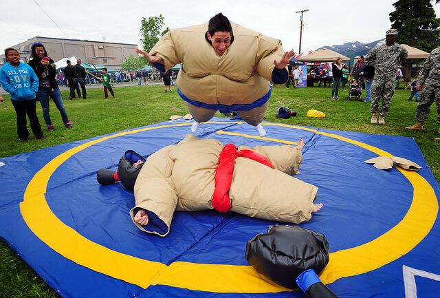 Đừng bỏ lỡ cơ hội trải nghiệm làm võ sĩ sumo miễn phí dịp lễ 30/4 này! - Ảnh 1.