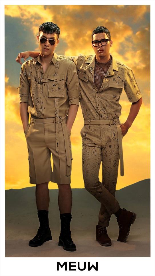 BST JOURNEY OF MEUW: Dành cho những chàng trai thích phiêu lưu khám phá - Ảnh 2.