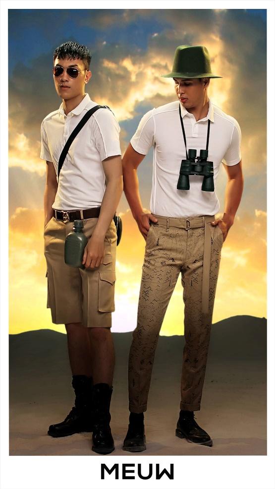BST JOURNEY OF MEUW: Dành cho những chàng trai thích phiêu lưu khám phá - Ảnh 8.