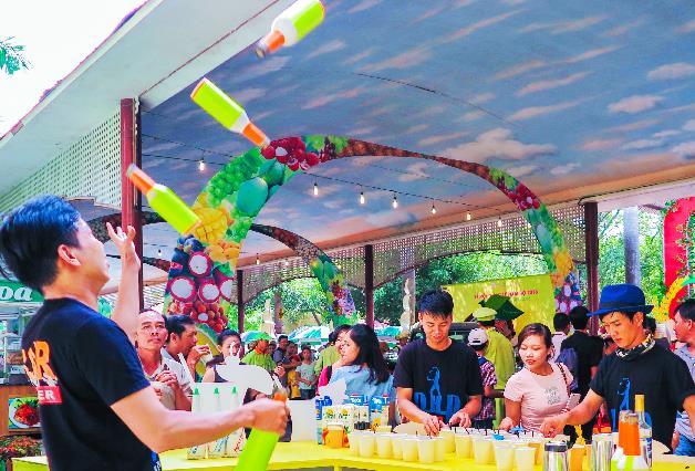 Suối Tiên chào hè rực rỡ với Lễ hội trái cây Nam Bộ 2018 - ảnh 8