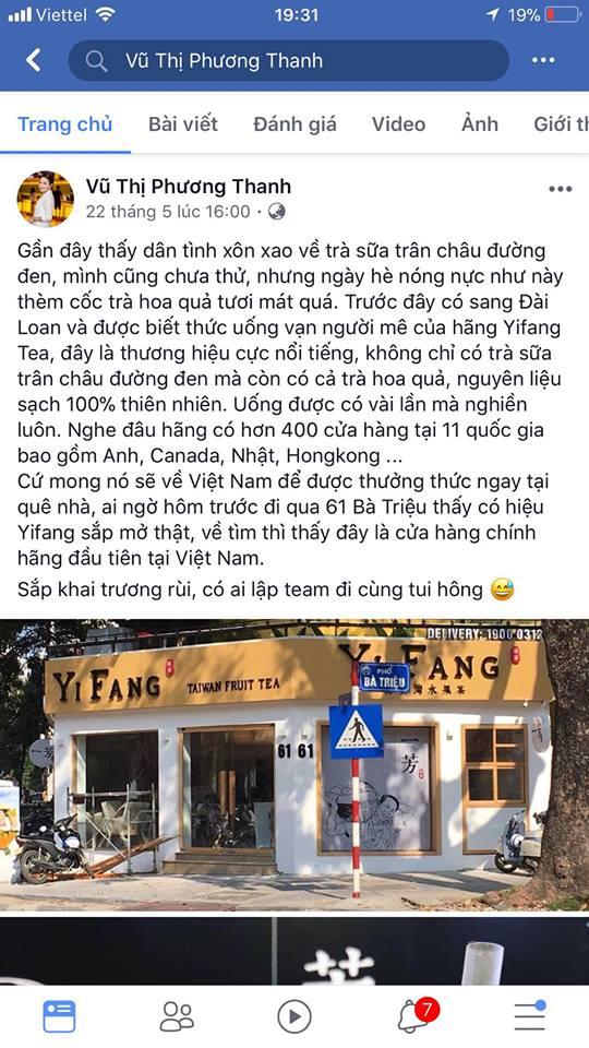 YIFANG Taiwan Fruit tea – Thương hiệu trà đang gây sốt cộng đồng mạng - Ảnh 3.