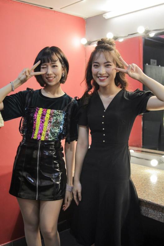 Min và Jaykii xuất hiện, truyền cảm hứng cho thí sinh tại đêm thi Nhóm hát top 35 của Voice Up - Ảnh 3.