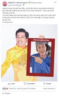 Giữa tâm bão #timnguoilac trên mạng xã hội, lộ tin Hoài Linh làm thám tử - Ảnh 1.