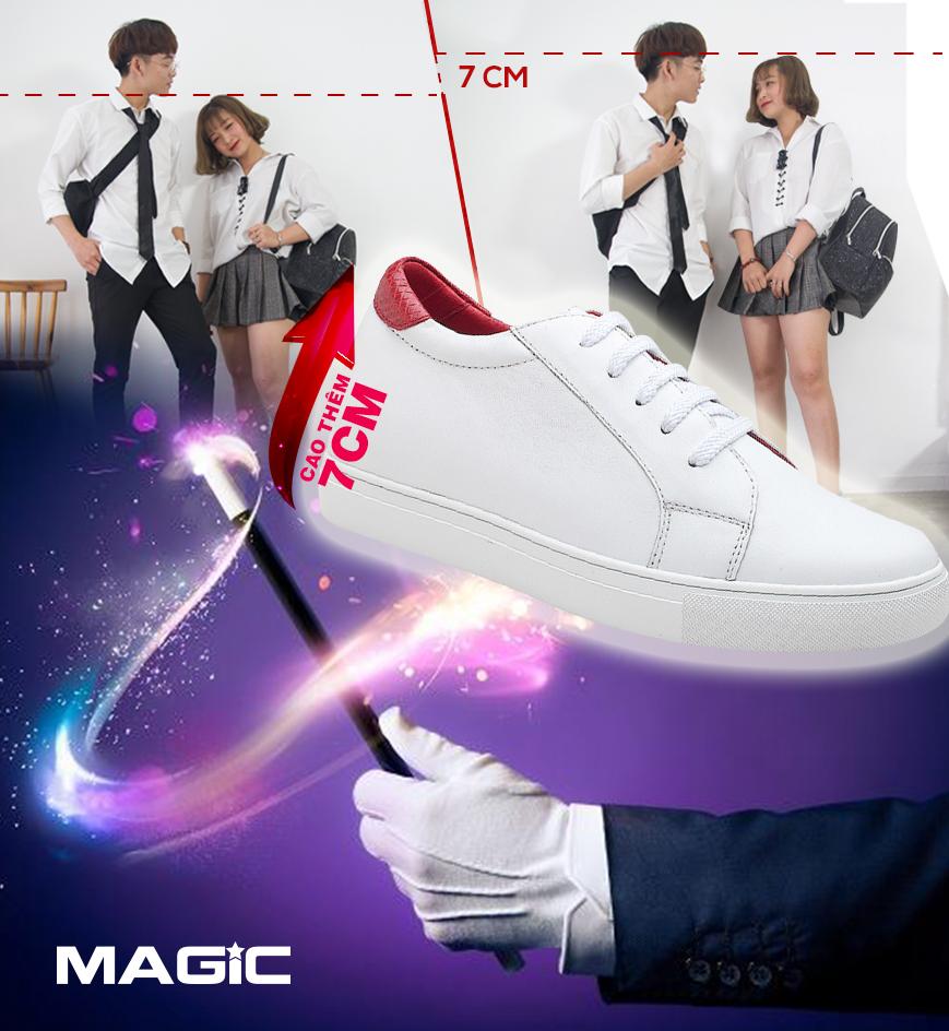 Cơn sốt giày thể thao tăng chiều cao mang tên Magic - Ảnh 1.