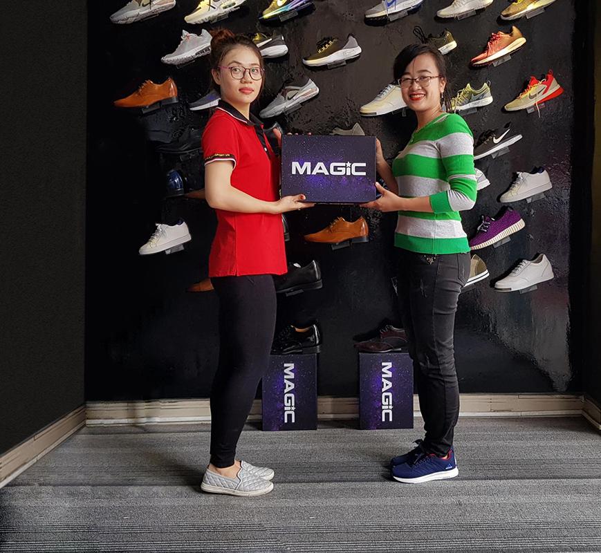 Cơn sốt giày thể thao tăng chiều cao mang tên Magic - Ảnh 3.