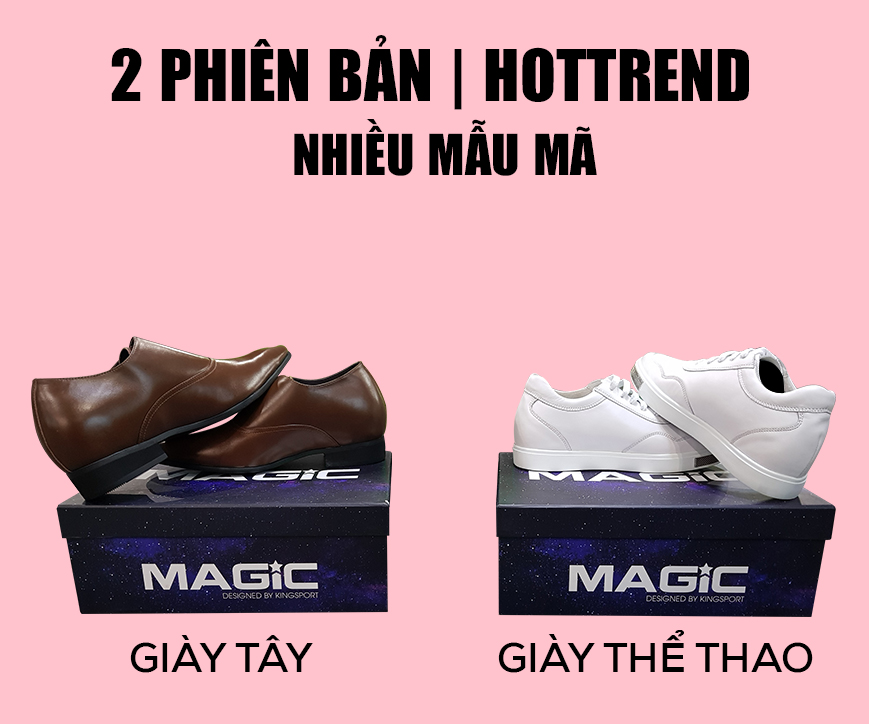 Cơn sốt giày thể thao tăng chiều cao mang tên Magic - Ảnh 4.