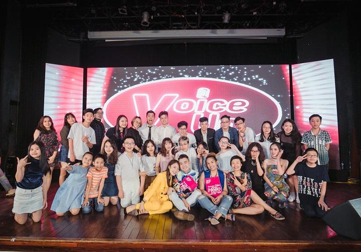 Voice Up 2018 xuất sắc hoàn thành hơn nửa chặng đường - Ảnh 1.