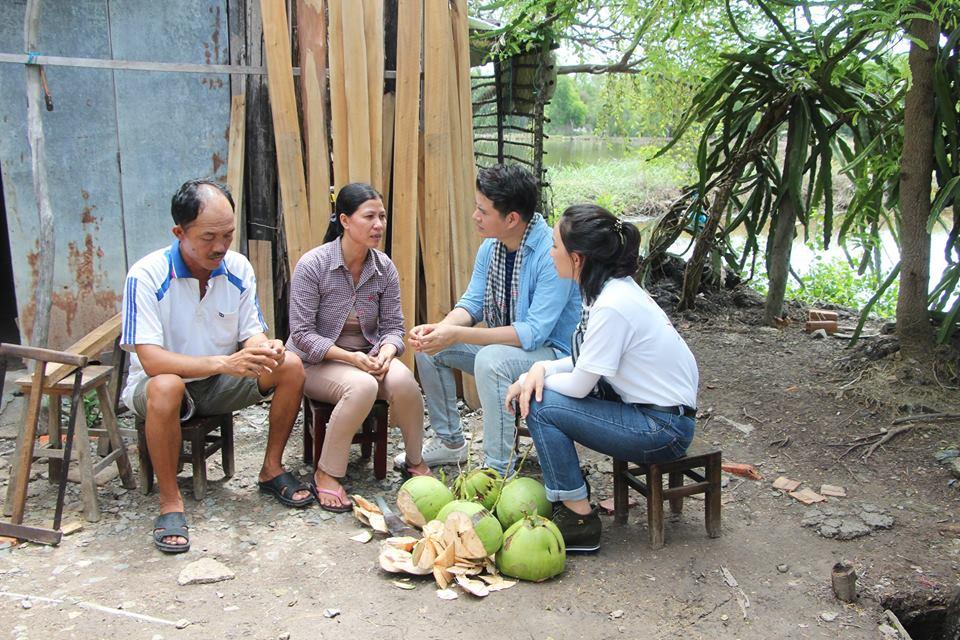 Ước Mơ Từ Làng: MC Vũ Mạnh Cường, ca sĩ Nam Cường cảm phục trước nỗ lực của các em học sinh nghèo hiếu học - Ảnh 5.