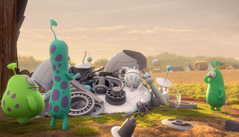 Cười quên lối về với Luis và nhóm bạn ngoài hành tinh - Ảnh 2.