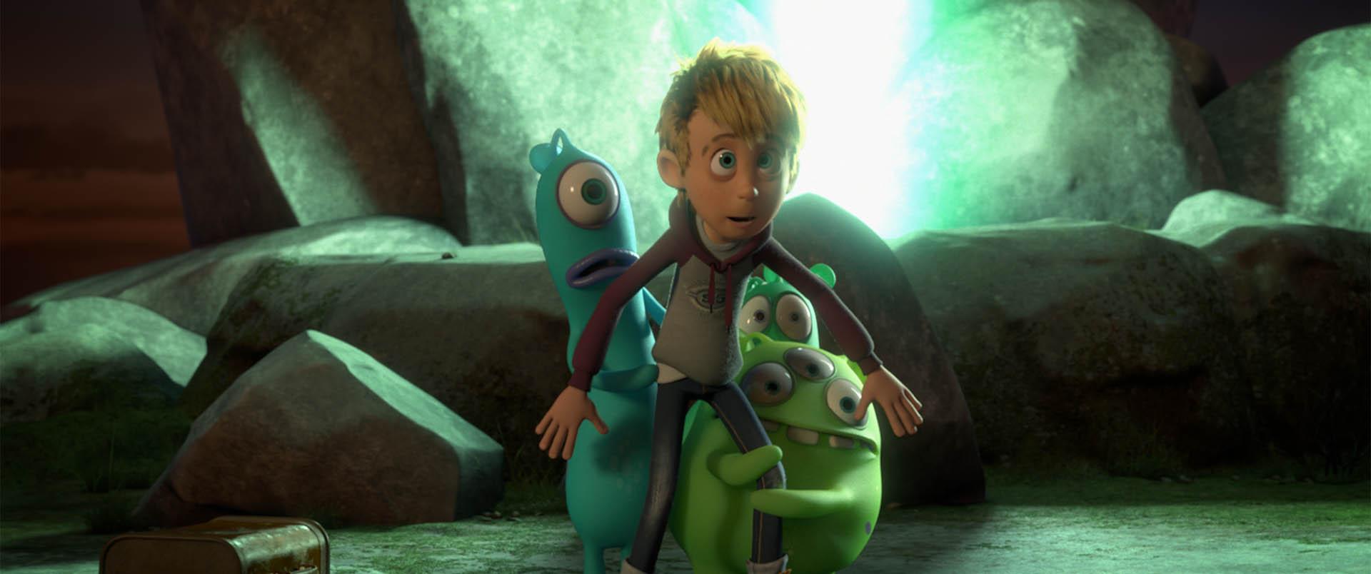 Cười quên lối về với Luis và nhóm bạn ngoài hành tinh - Ảnh 7.