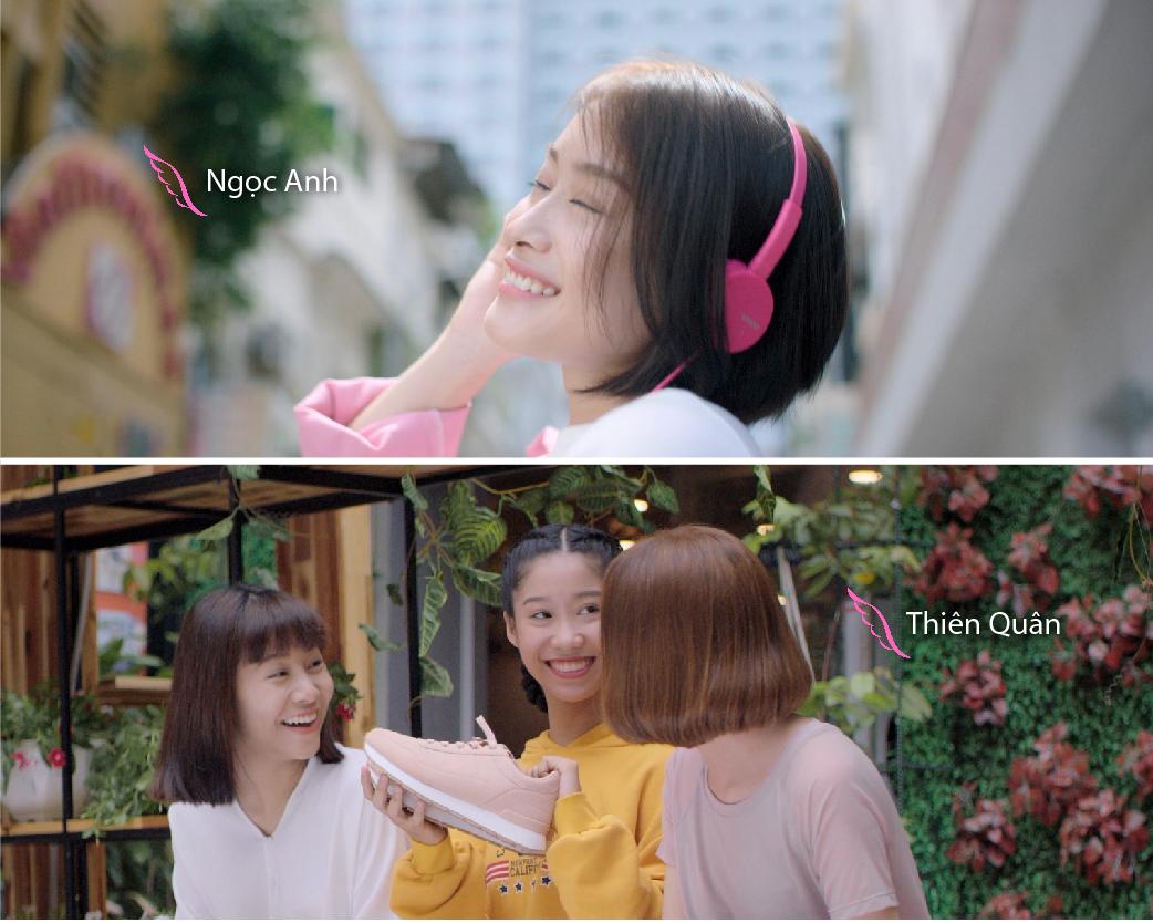 Truy tìm 6 cô gái toả sáng cùng MIN trong MV đẹp như mơ - Ảnh 2.