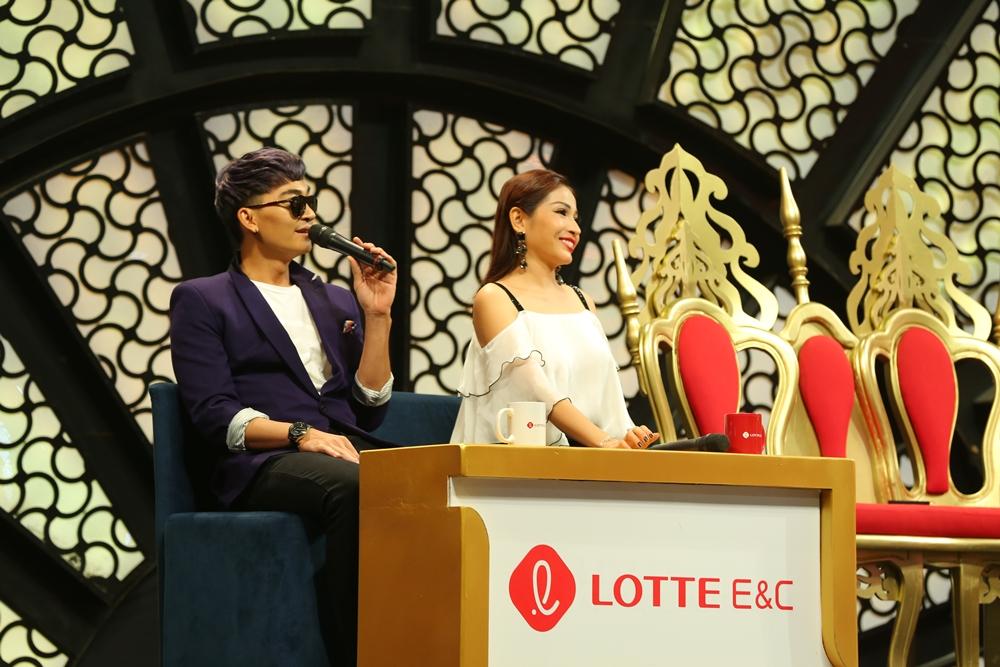 Khương Ngọc, Khả Như xích mích nhau vì giành phần giới thiệu với khán giả - Ảnh 3.