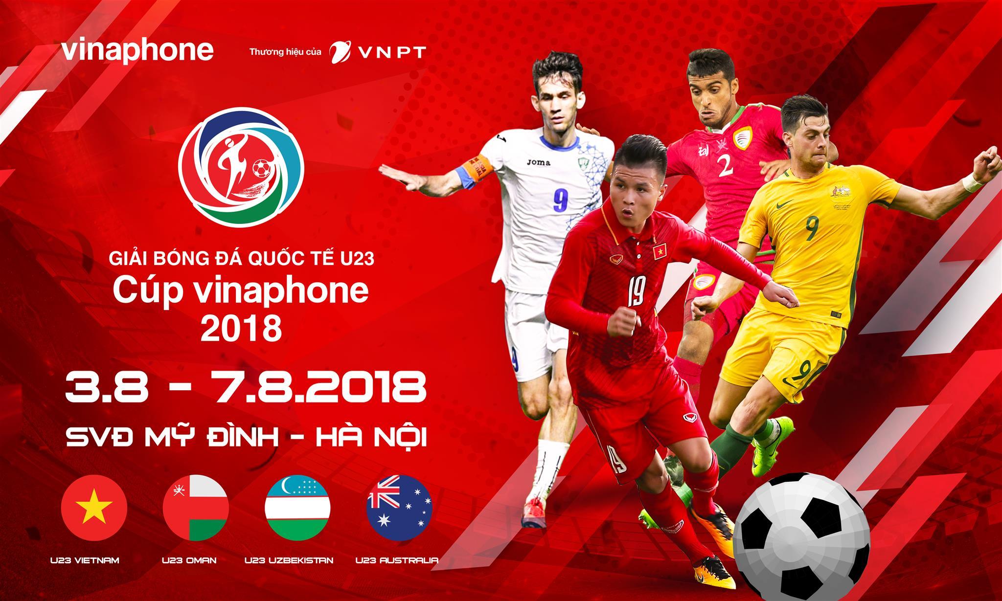 VNPT trở thành nhà tài trợ chính cho Giải bóng đá quốc tế U23 2018 - Ảnh 1.