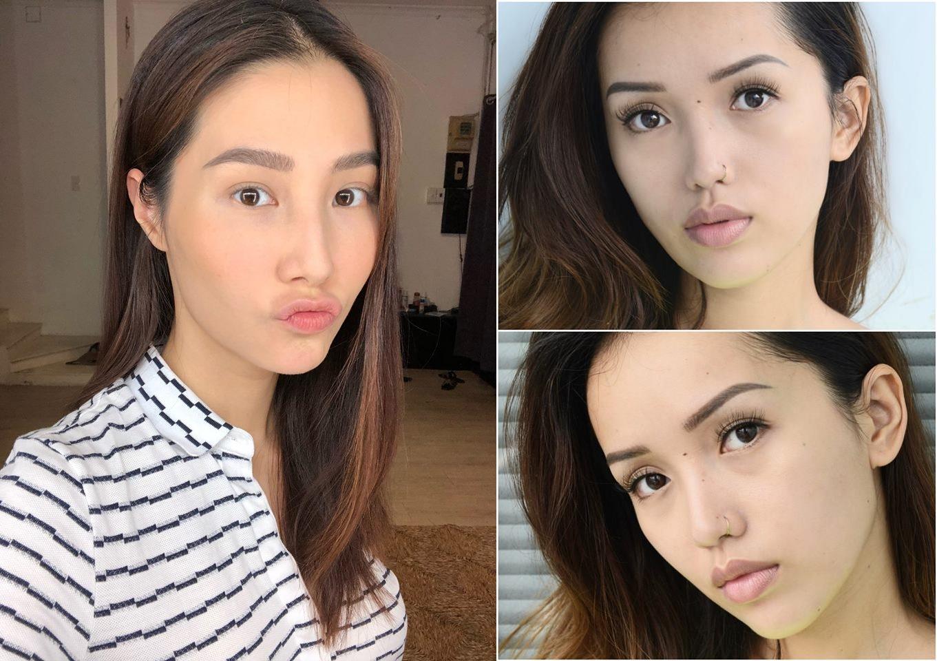 Diễm My 9x và loạt hot girl Việt rần rần thách nhau khoe ảnh selfie mặt mộc - Ảnh 1.