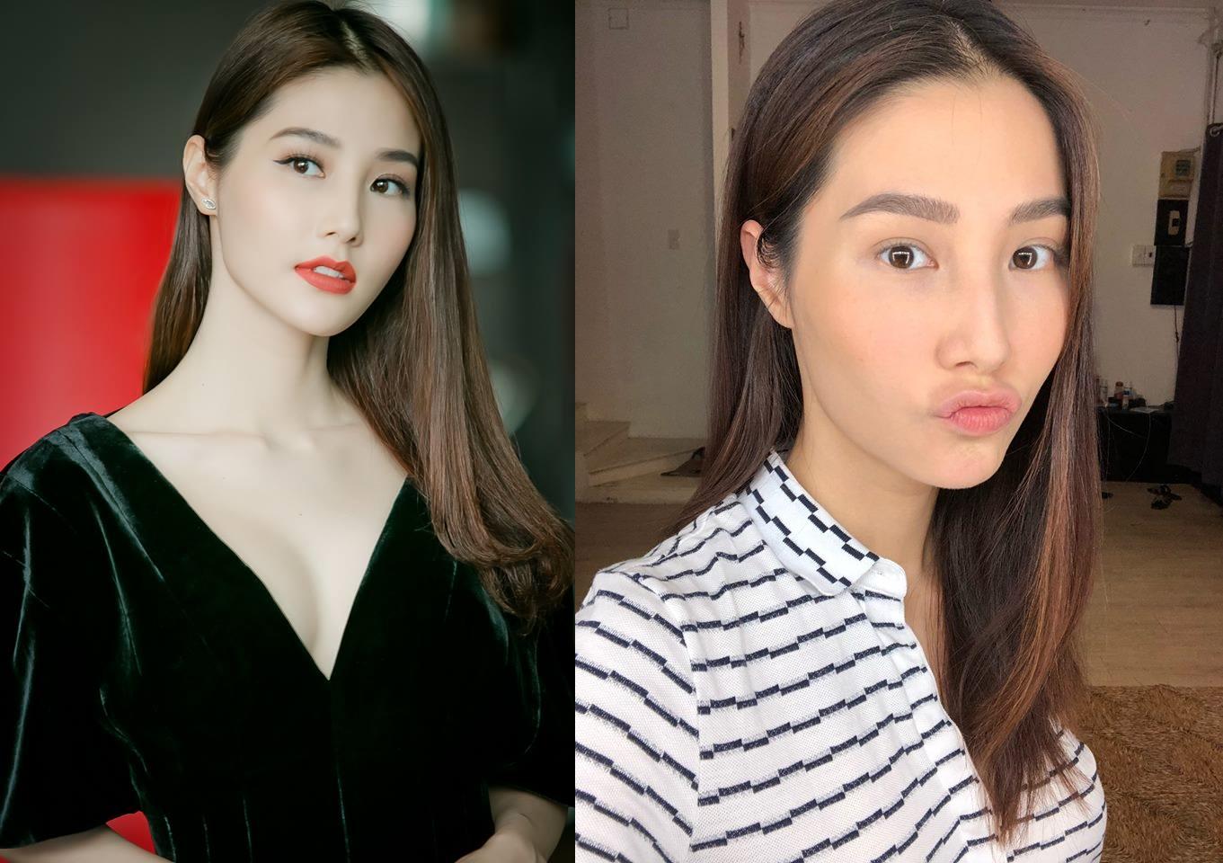 Diễm My 9x và loạt hot girl Việt rần rần thách nhau khoe ảnh selfie mặt mộc - Ảnh 2.