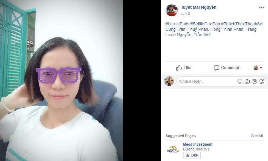 Diễm My 9x và loạt hot girl Việt rần rần thách nhau khoe ảnh selfie mặt mộc - Ảnh 10.