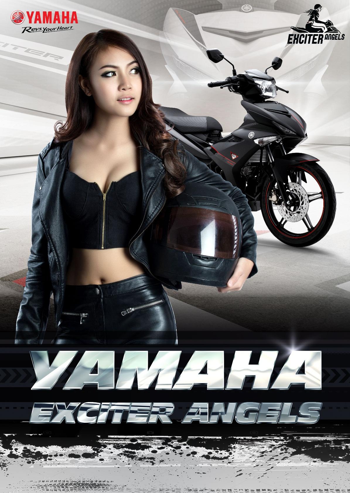 Con gái mê xe? Còn chờ gì mà không về với Yamaha Exciter Angels! - Ảnh 1.