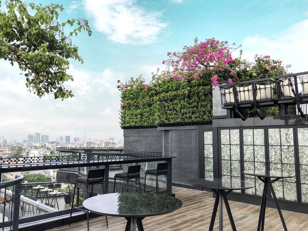 Khám phá 2 rooftop sang chảnh bậc nhất Hà Nội nằm trong phố cổ - Ảnh 5.