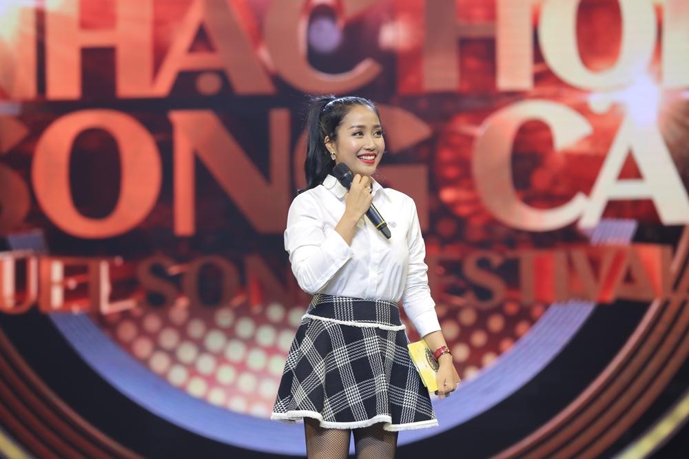 Sau ly hôn, Hồng Nhung rạng rỡ tham gia Nhạc hội song ca mùa 2 - Ảnh 2.