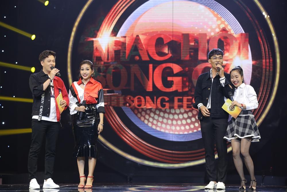 Sau ly hôn, Hồng Nhung rạng rỡ tham gia Nhạc hội song ca mùa 2 - Ảnh 3.