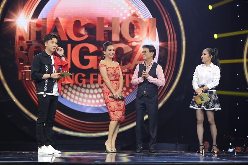Sau ly hôn, Hồng Nhung rạng rỡ tham gia Nhạc hội song ca mùa 2 - Ảnh 5.
