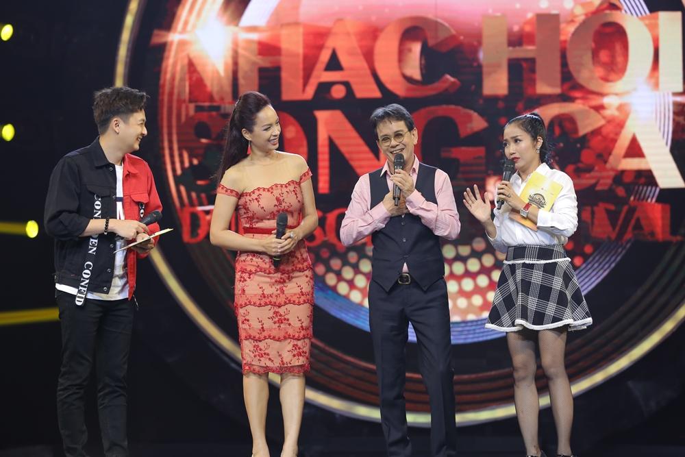 Sau ly hôn, Hồng Nhung rạng rỡ tham gia Nhạc hội song ca mùa 2 - Ảnh 6.